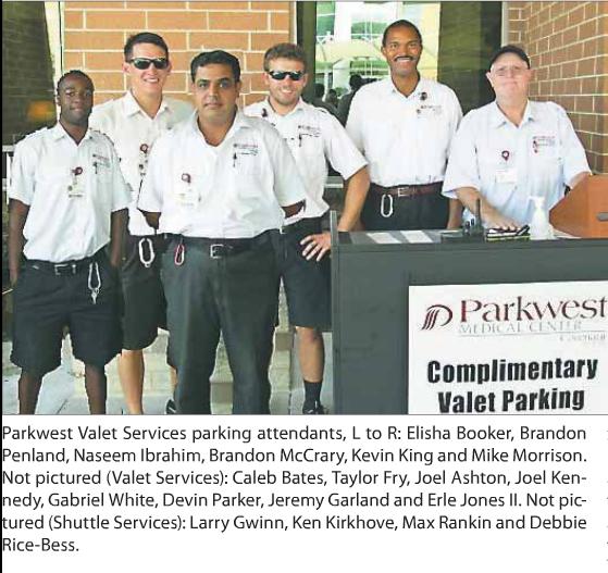 Spotlight on Valet Services at Parkwest Medical Center